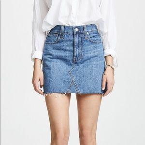 Madewell Blue Denim Skirt